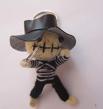Amazon.com: viruchshop - Llavero de muñeca pirata Voodoo ...