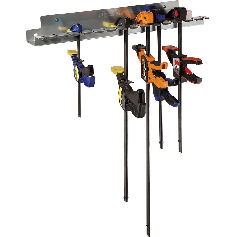 Quick-Release Bar Clamp Rack