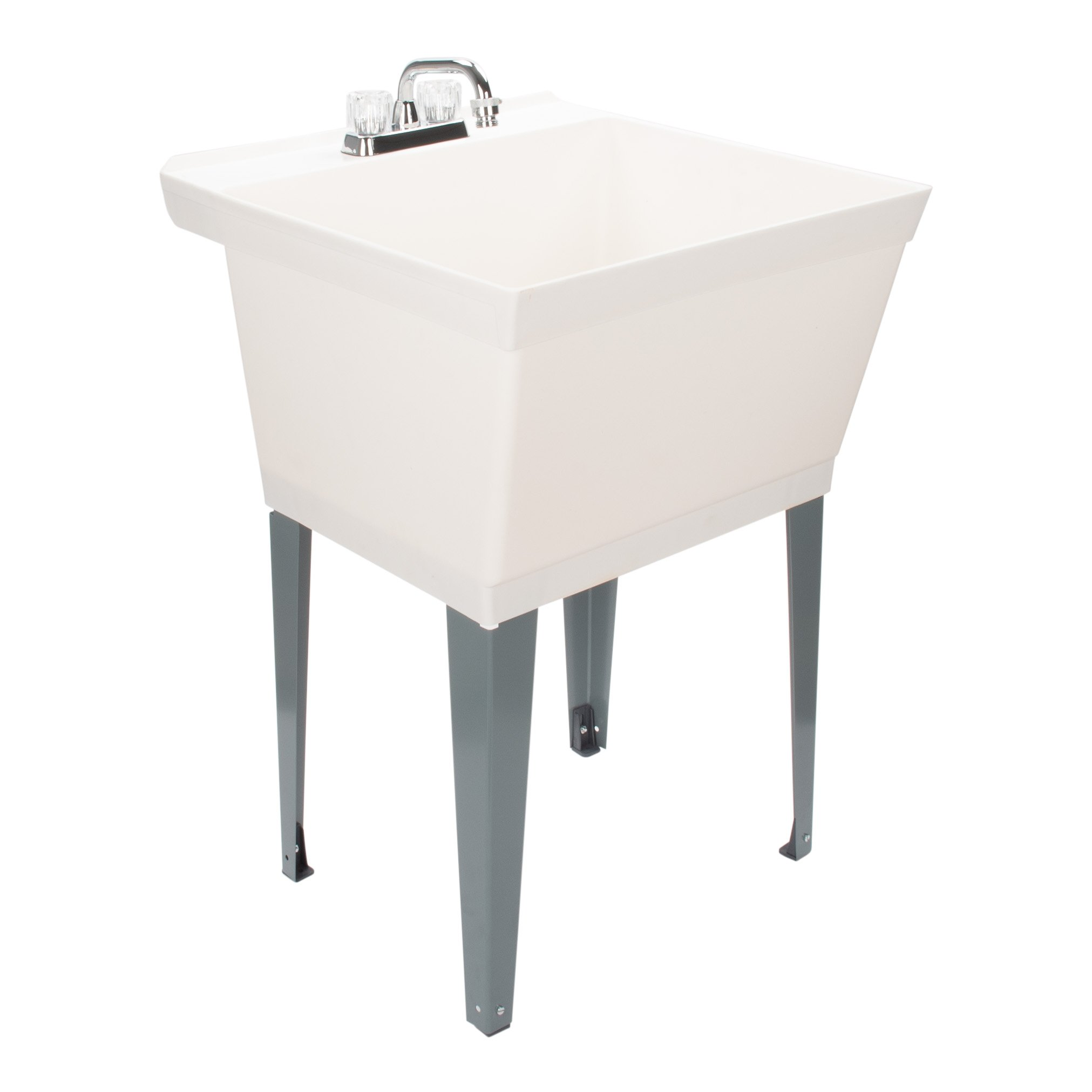 LDR Industries 405000 040 5000 Utility Sink, White