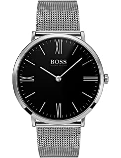 6b7f1facc842a Hugo BOSS Mens Analogue Classic Quartz Watch with Stainless Steel Strap  1513514