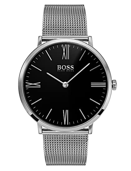 Hugo BOSS Reloj Análogo clásico para Hombre de Cuarzo con Correa en Acero Inoxidable 1513514