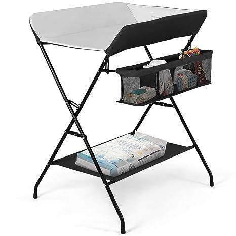 Fabulous Costzon Baby Changing Table Folding Diaper Station Nursery Download Free Architecture Designs Osuribritishbridgeorg