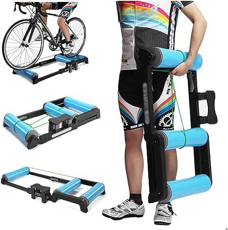 LUCKFY Ciclismo Indoor parabólica Rodillo de Bicicletas Trainer ...
