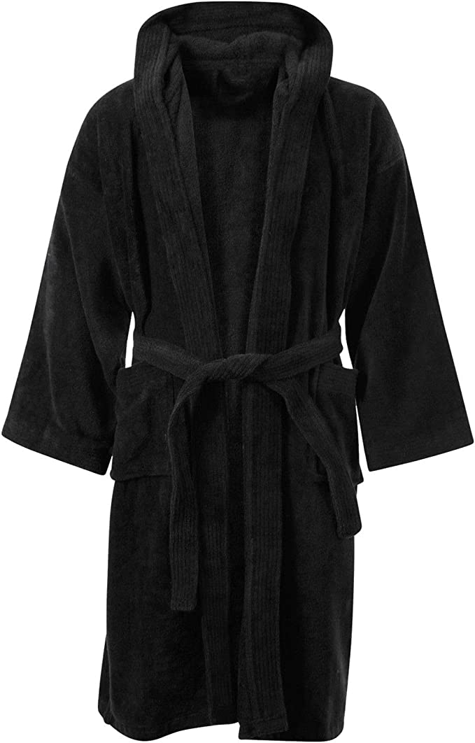 Boys/' Thick Navy Dressing Gown 7-8 Years FREE UK P/&P