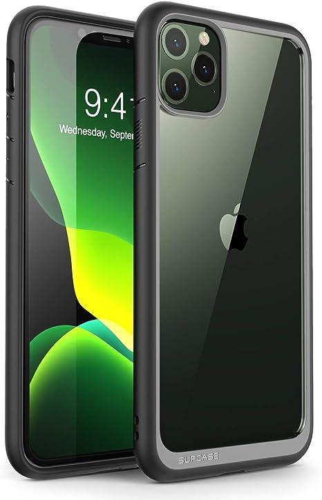 Supcase Iphone 11 Pro Max Hülle Slim Case Premium Handyhülle Transparent Schutzhülle Dünn Backcover Unicorn Beetle Style 6 5 Zoll 2019 Ausgabe Schwarz Elektronik