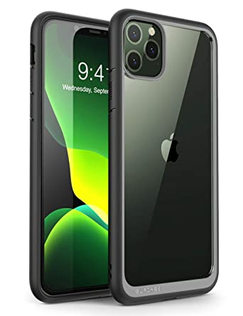 SUPCASE Unicorn Beetle Style Series Case Designed for iPhone 11 Pro Max 6.5  Inch (2019 Release), Premium Hybrid Protective Clear Case (Black)