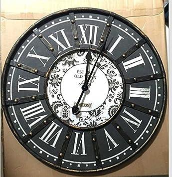 CNMKLM reloj de pared, salón dormitorio reloj, Creative bike relojes, relojes decorativos, decoraciones y adornos en la pared #10: Amazon.es: Hogar