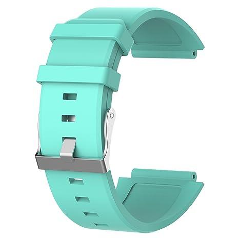 Chofit Correa de silicona para reloj Sony SW2, correa de reloj ...