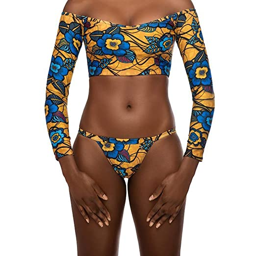 7625bd4dba Amazon.com  MmNote Women s Digital Totem Print Sexy Mesh One-Piece ...