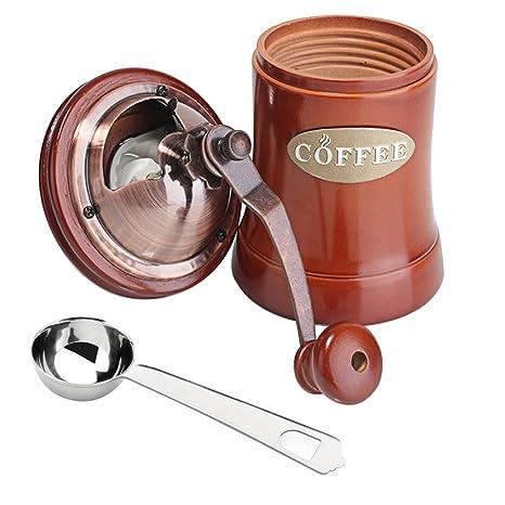 Daygos - Molinillo de café manual para máquina de café (cerámica, para viajes)