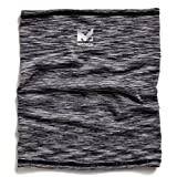 Mission HydroActive Fitness Multi-Cool Neck Gaiter and Headband, Space Dye Charcoal, One Size