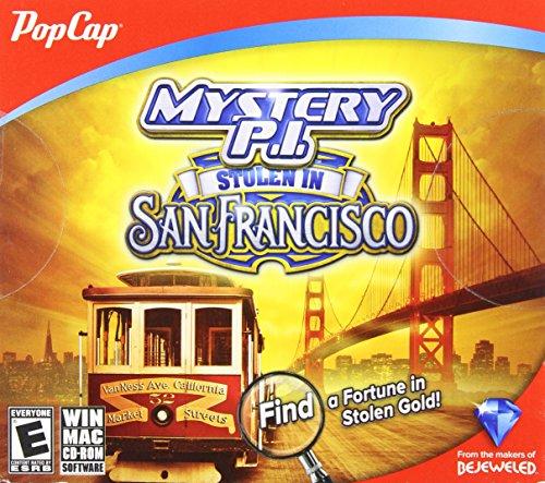 (Popcap Games Mystery P.i. Stolen In San Francisco [windows Xp/vista/windows)