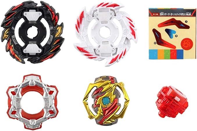 AMA-StarUK36 Beyblade mit Launcher B-155 GT-Serie Fight Masters Fusion-Kreisel Kreisel Kreisel Metallschnelligkeit Interessantes Spielzeug f/ür Kinder