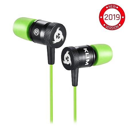 ??KLIM™ Fusion Audio Kopfhörer - Langlebig + 5 Jahre Garantie - Innovativ: In-Ear-Kopfhörer mit Memory Foam [ Neue 2019 Versi