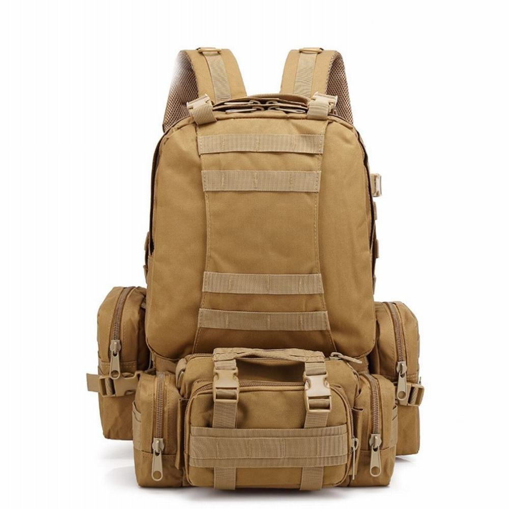 SLR Large Combination Backpack Outdoor Backpack Camouflage Hiking Package Men's Sports Bag Camping Travel,A,One Size