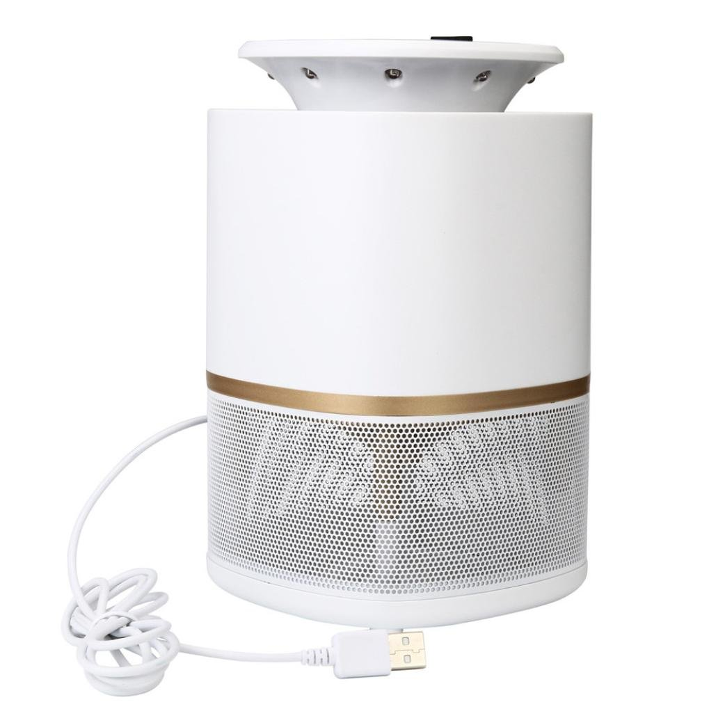 Stheanoo Electronic Mosquito Catcher USB LED Light UV Mosquito Lamp Fly Bug Insect Zapper for Summer Indoor and Outdoor Pest Control