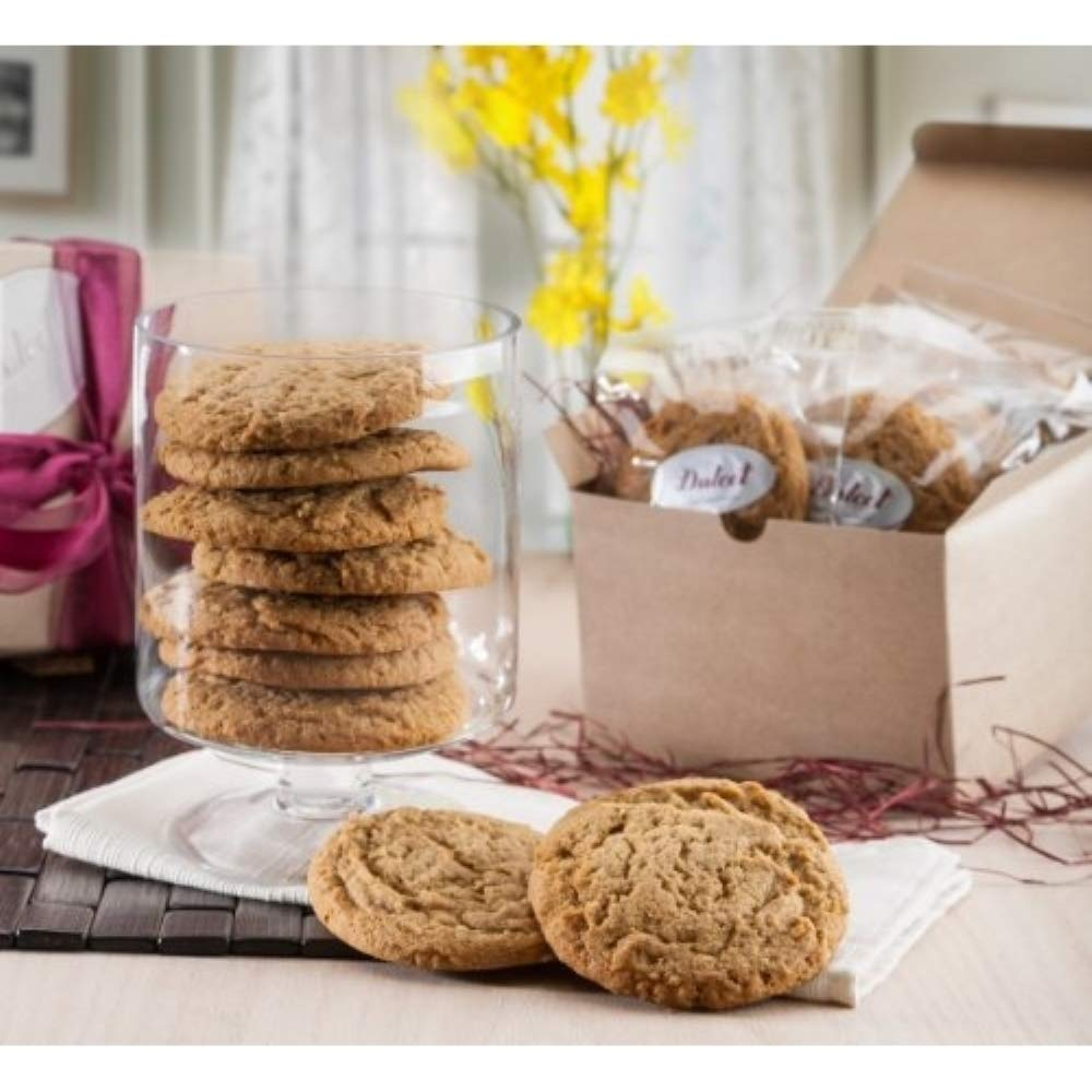 Amazon.com : Dulcet Gift Baskets Fresh Baked Favorite Peanut Butter Protein Cookie  Gift Basket 12 Count for Thank You Gift, Mentor, College Student, Family,  Friends, Him & Her : Grocery & Gourmet Food