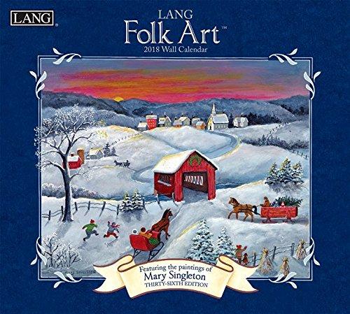 Lang Folk Art 2018 Calendar