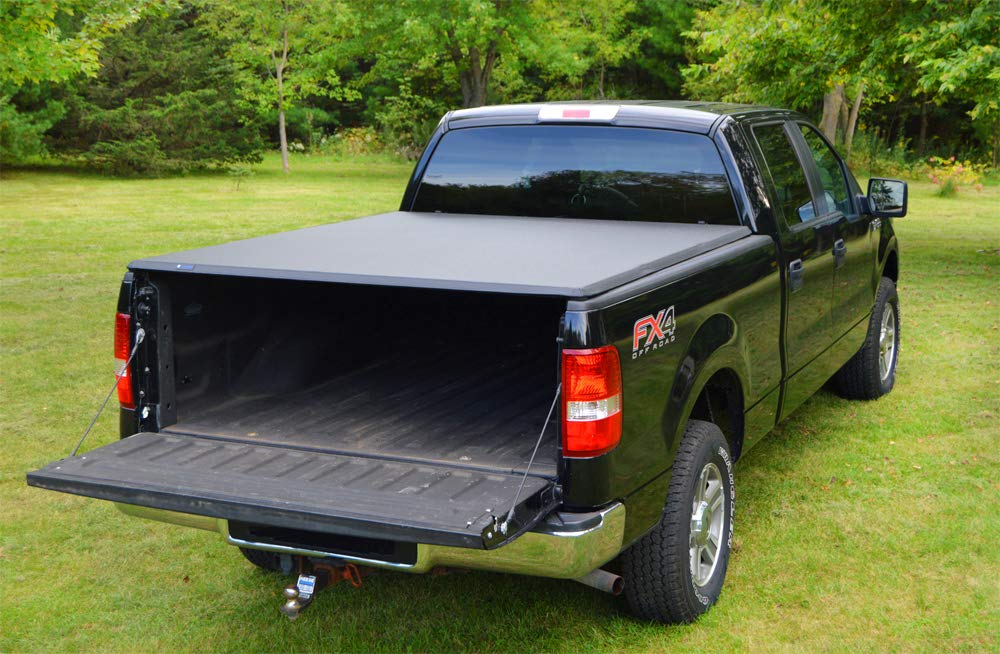 Roll Up Truck Bed Tonneau Cover Works with 2004-2008 Ford F-150 Styleside 6.5 Bed ; 2005-2008 Lincoln Mark LT Excl. 2004 Heritage