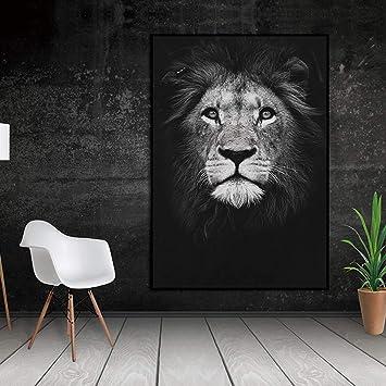 Amazon Com Jhljianju 1 Panel Duvar Sanat Tuval Posteri Hayvan