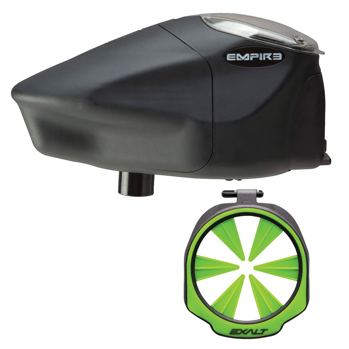 Prophecy /& Z2 Lime Exalt Paintball Loader Feedgate