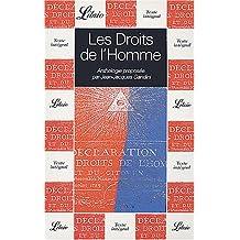 DROITS DE L'HOMME (LES)