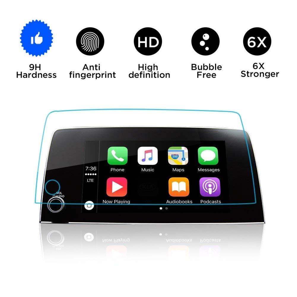 "Honda CRV Screen Protector 2017 2018 2019,Tempered Glass Screen Protector for Honda CRV,Wonderfulhz,9H Hardness,Anti Fingerprint,High Definition,Honda 7"" Car Center Touch Screen Protecto"