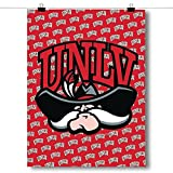 Inspired Posters University of Nevada, Las Vegas (UNLV) Rebels - NCAA Poster Size 18x24