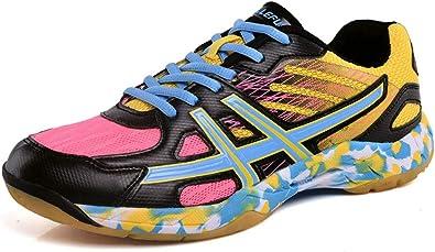 SMXX Zapatillas de bádminton Transpirables Zapatillas Deportivas de Interior Confort Antideslizante: Amazon.es: Zapatos y complementos