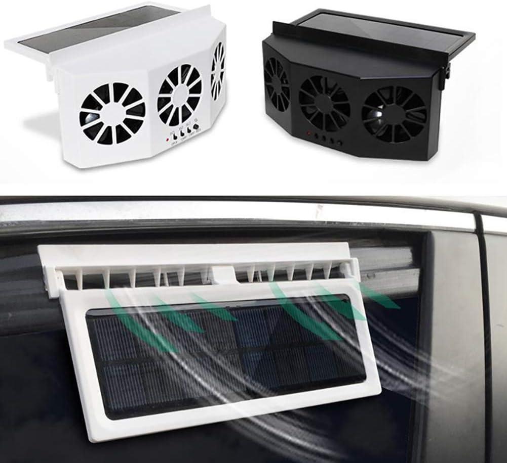 Portatile DishyKooker Sicuro Ventilatore da Auto 3 K per 1 Ventilatore a energia Solare K per 1 Uscita