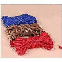 Cuerda de algodón suave retorcida de 10 m