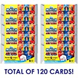2017-18 TOPPS MATCH ATTAX PREMIER LEAGUE 10 PACKS (9 CARDS PER PACK) + BONUS PACKS TOTAL 120 CARDS! LOOK FOR POGBA, KANE, AGUERO! DON'T CONFUSE WITH SMALLER 6 CARD PACKS. *SHIPS FROM USA*