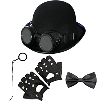 56964b4d364 ADULTS STEAMPUNK ACCESORY KIT PERFECT FOR ANY FANCY DRESS PARTY VICTORIAN  OLD ENGLAND GOTHIC MEDIEVAL STEAM