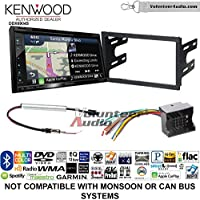 Volunteer Audio Kenwood Excelon DNX694S Double Din Radio Install Kit with GPS Navigation System Android Auto Apple CarPlay Fits 2003-2005 Volkswagen Golf, Jetta, Passat