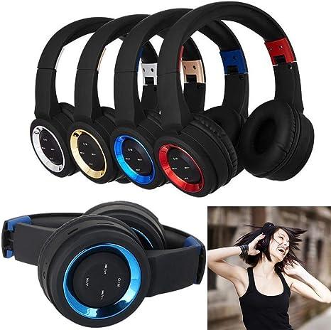 Amazon.com: LEANO - Auriculares de música plegables ...