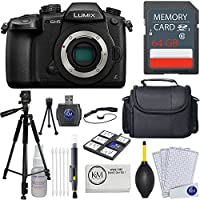 Panasonic Lumix DC-GH5 Mirrorless Camera + 64GB Card + Essential Photo Bundle