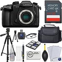 Panasonic Lumix DC-GH5 Mirrorless Camera + 64GB Card + Essential Photo Bundle