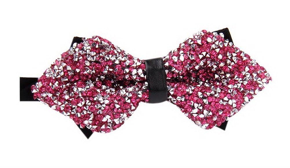 New Fashion Mens Wedding Bow Tie Luxury Selftied Bow Tie Diamond Bowtie XZJ09-1