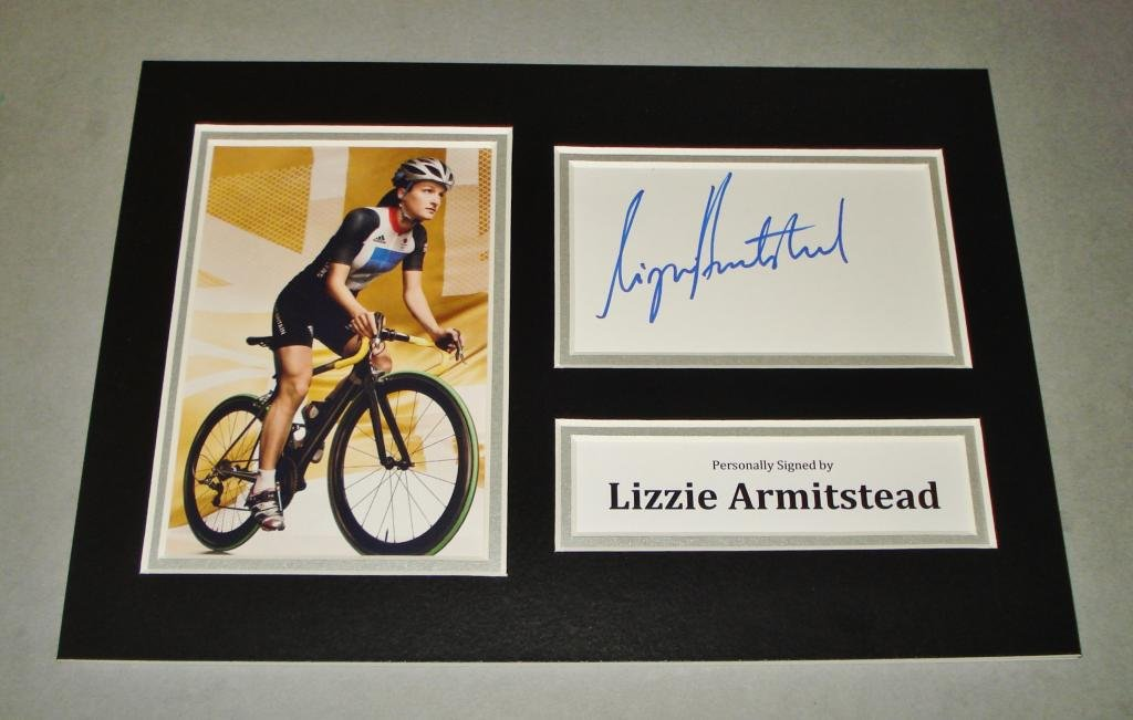 Lizzie Armitstead Signed 6x4 Photo Road Race Cyclist Olympic Autograph Coa Cheapest Price From Our Site London 2012