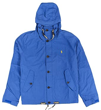 c0cf5fde Image Unavailable. Image not available for. Color: Ralph Lauren Polo Men's  Tuthill Hooded Anorak .
