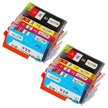 Win-Tinten Paquete de 5 reemplazos para HP 364XL Cartucho de ...