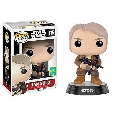 Funko - Figurine Star Wars Episode 7 - Han Solo Bowcaster Exclu Pop 10cm - 0849803096267