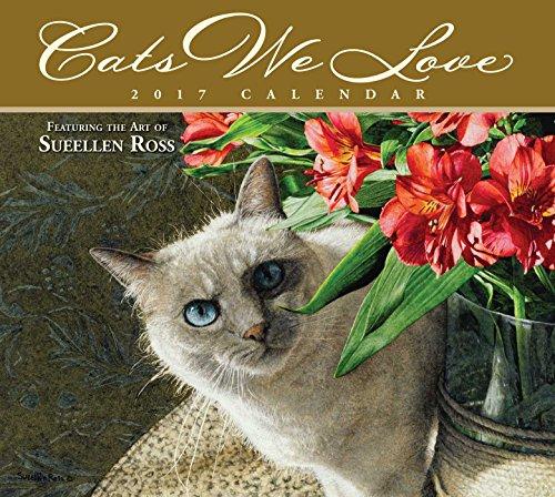 Cats We Love 2017 Deluxe Wall Calendar