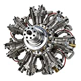 Evolution Engines 7 Cyl 260cc 4 Stroke Gas Radial Engine