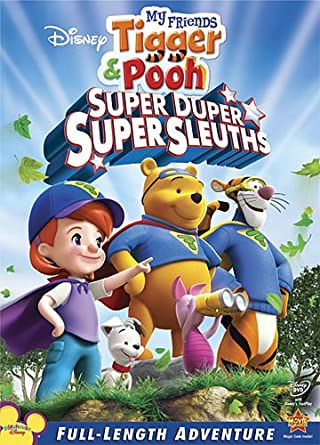 Amazon my friends tigger pooh super duper super sleuths my my friends tigger pooh super duper super sleuths altavistaventures Images