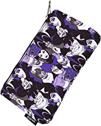 Loungefly Disney Villians All Over Print Zippered Pencil Pouch