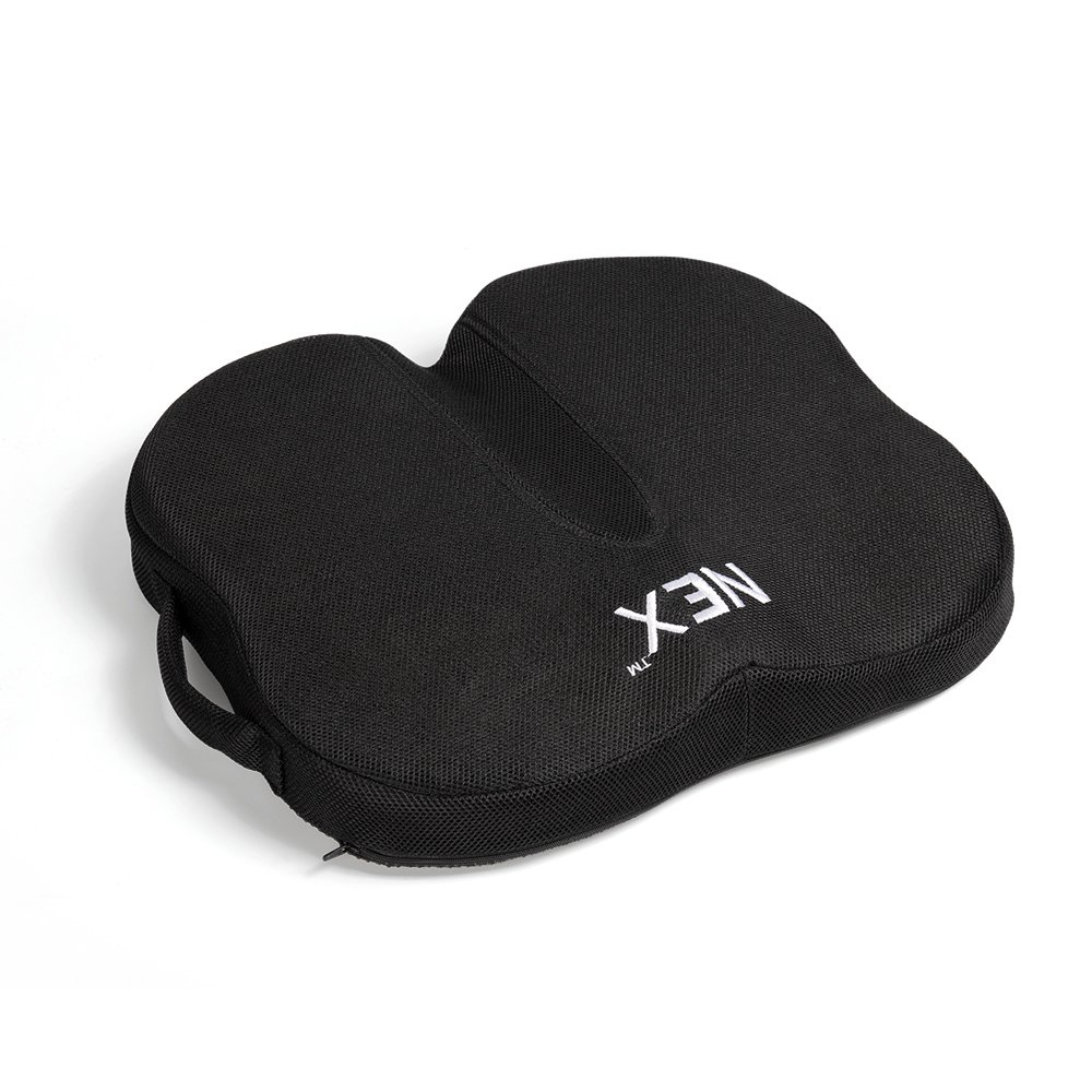 NEX Premium Butterfly Shaped Coccyx Seat Cushion for Back Support, Helps With Sciatica Back Pain, Perfect for Your Office Chair