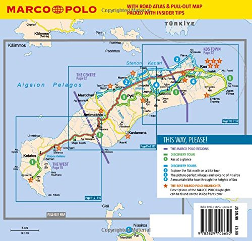 Kos Marco Polo Pocket Guide Marco Polo Travel Guides Amazoncouk