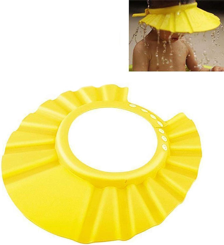 Eric Carl Hot Safe Shower Bathing Protect Soft Cap Hat for Baby Wash Hair Children Bathing Shower Cap Hat Kids Baby Hats
