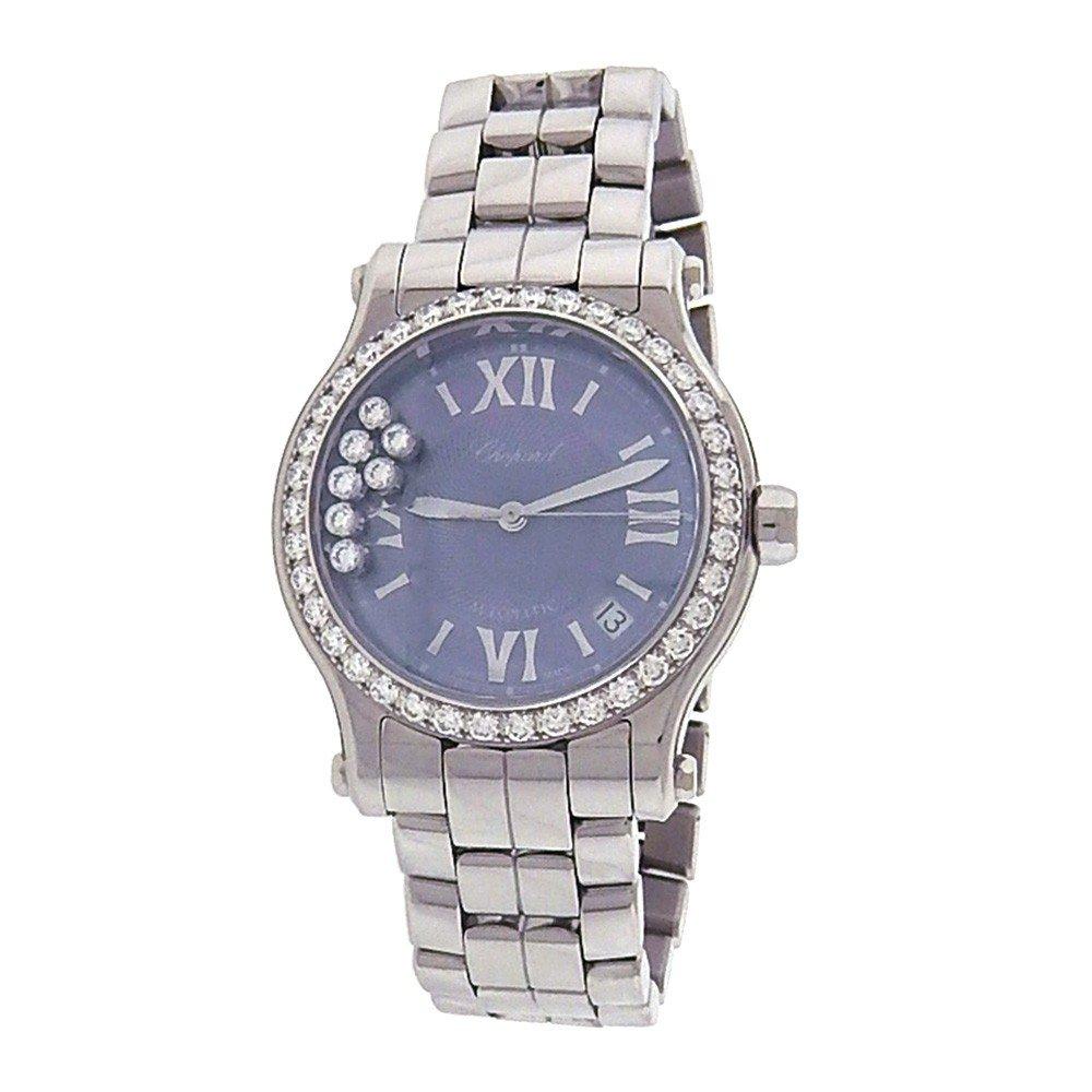 Chopard Happy Sport DIamond automatic-self-wind womens Watch 278559-3010 (Certified Pre-owned)